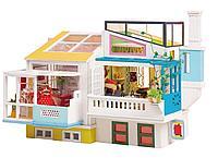 Деревянные 3D пазлы Дома миниатюры Loving Neighborhood