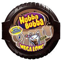 "Жевательная резинка Hubba Bubba ""Mega Long Cola"" 1 шт (блок 12шт)"