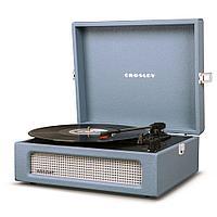 Проигрыватель виниловых дисков CROSLEY VOYAGER Washed Blue CR8017A-WB