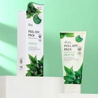 Маска-плёнка EKEL Peel-Off Pack Green Tea с экстрактом зелёного чая, 180 г