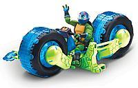 TMNT: Rise of the Turtles. Мотоцикл с фигуркой Лео