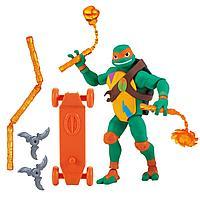 TMNT: Rise of the Turtles. Фигурка Микеланджело 12 см