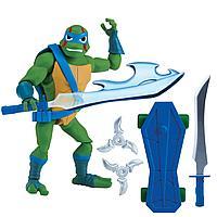 TMNT: Rise of the Turtles. Фигурка Леонардо 12 см