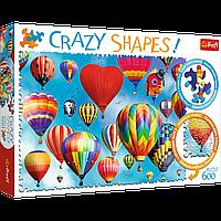 """TREFL: пазл серии Crazy Shapes """"Разноцветные шары"""", 600 деталей"""