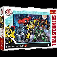 "TREFL: пазл Transformers ""Команда автоботов"", 100 деталей"