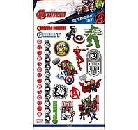 Наклейки-тату переводные 110х200 Мстители