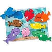 """Melissa & Doug: """"Первые навыки"""" Цветные рыбки"""