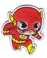 Наклейка-патч для одежды DC, Super Friends, Флэш 1