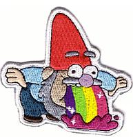 Наклейка-патч для одежды Гравити Фолз, гном 1