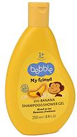 Bebble: Шампунь/гель для душа MY Friend, банан, 250 мл