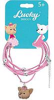 Lucky doggy: Кожаный браслет с Йорком