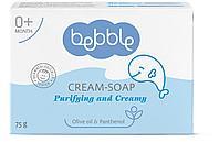 Bebble: Крем мыло твердое, 75 гр