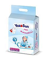 Yokosun: Пеленки одноразовые с липкой лентой для фиксации 50*50 см. 10 шт