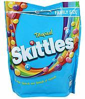 Драже Skittles Tropical Pouch тропические фрукты 196г