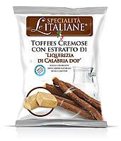 Ирис Le Specialita Italiane Liquirizia (Сливочные со вкусом Лакрицы) 100 гр