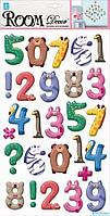 Room Decor: Веселые цифры