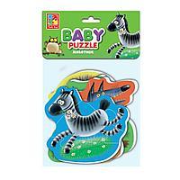 "Vladi Toys: Мягкие пазлы Baby puzzle ""Животные"" ("