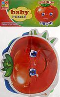 "Vladi Toys: Мягкие пазлы Baby puzzle ""Овощи"""