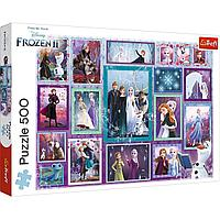 "TREFL: пазл серии Frozen ""Коллаж"", 500 дет."