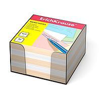 Бумага для заметок, 90x90x50 мм, 2 цвета: белый, персиковый
