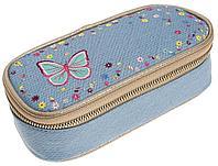 Пенал школьный/ пенал для девочки/ пенал классический к рюкзаку Flower Power