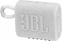 Портативная акустика JBL GO 3, белая