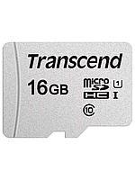 Карта памяти Micro SD 16GB Transcend TS16GUSD300S-A Class 10 U1