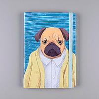 """Блокнот """"Собака"""" 96 листов, бульдог"""
