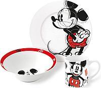 Набор посуды Микки Набросок 3 предмета