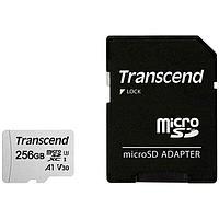 Карта памяти Micro SD 256GB Transcend TS256GUSD300S-A class10 U3