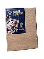 Холст для рисования и вышивания на подрамнике, 30*40 см, мешковина/ товары для рукоделия
