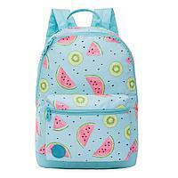 Рюкзак подростковый для девочки Арбуз-киви