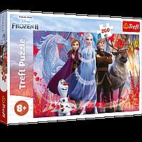 """TREFL: пазл серии Frozen """"В поисках приключений"""", 260 деталей"""