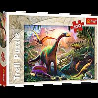 """TREFL: пазл """"Мир динозавров"""", 100 деталей"""