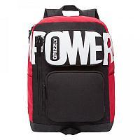 Рюкзак подростковый для мальчика, черно-красный