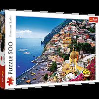 """TREFL: пазл """"Позитано, Амальфитанское побережье Италии"""", 500 деталей"""
