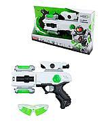 Игрушечное оружие Бластер звук свет/игрушка автомат-пистолет/ очки