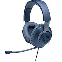 Наушники игровая гарнитура JBL Quantum 100, синие
