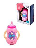 """Kaichi: Развивающая музыкальная игрушка для малышей """"Бутылочка для девочки"""""""