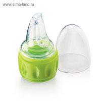 Соска-поильник для бутылок Happy Baby силиконовая, лайм