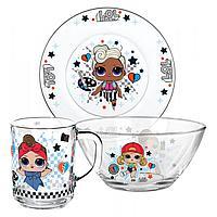 Набор посуды L.O.L. Surprise! Dollsaregogo , 3 предмета
