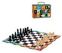 Коник: DJECO Шахматы и шашки под.набор