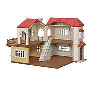 Sylvanian Families: Большой дом, со светом, игровой набор, подарок девочке