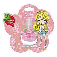 NOMI: Лак для ногтей для девочек № 10 Розовый пион в блистере
