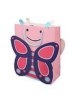 """Пакет бумажный """"Бабочка"""". 32x26x12 см."""