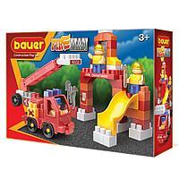 """Bauer: """"Fireman"""" набор пожарная машина и тренировочная площадка"""
