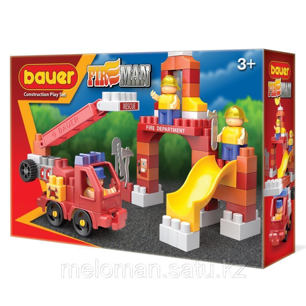 """Bauer: """"Fireman"""" набор пожарная машина и тренировочная площадка - фото 1"""
