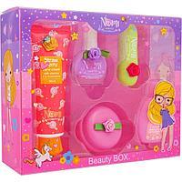 NOMI: Подарочный набор детской косметики в коробке из пластика Розовая Карамелька №11