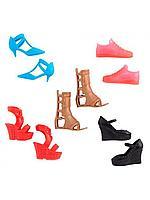 Barbie: Игр.н-р Обувь для Barbie, в ассортименте