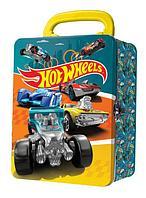 Hot Wheels: License. Портативный кейс для хранения 18 машинок, бирюзовый